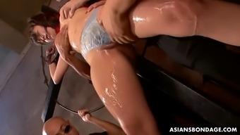 Fucktoy Nene Masaki überlebt bizarre 8 Creampies Gangbang