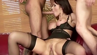 Mature-anal - Cock hungry milfs enjoy taking multiple dicks using all three  holes - Yes Porn